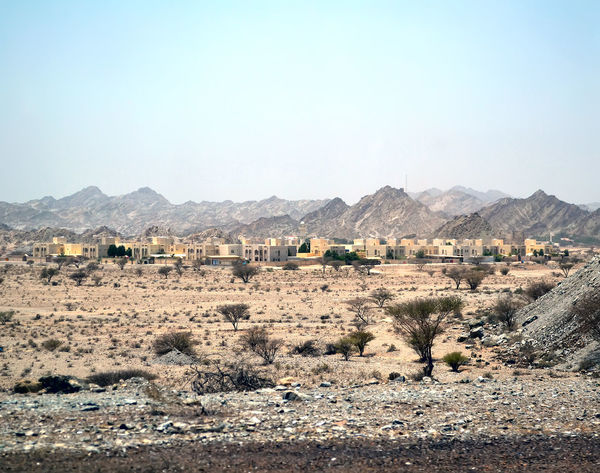 Beauty In Nature Blue Clear Sky Day Fujairah Hill Horizon Over Land Idyllic Landscape Mountain Mountain Range Nature No People Non-urban Scene Outdoors Remote Rural Scene Scenics Sky Tranquil Scene Tranquility UAE