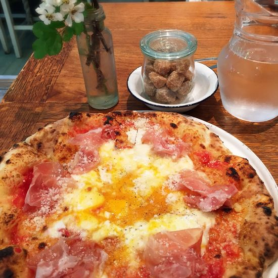 Pizza Pizza Time 秋保 秋保温泉 ドットーレ 生ハム ビスマルク Cafe Lunch Time! Lunch