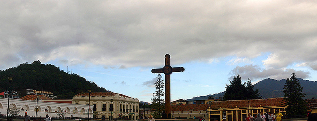 City Scape Cloud Cloudy Cross Dramatic Sky Famous Place Mexico Moody Sky Outdoors Religion Sancristobal Silhouette Sky