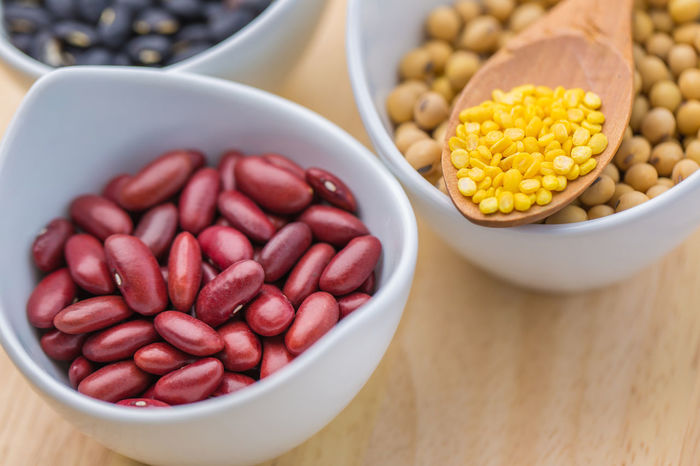 Bean Bowl Close-up Day Food Food And Drink Freshness Healthy Eating Indoors  No People Raw Food Still Life Table