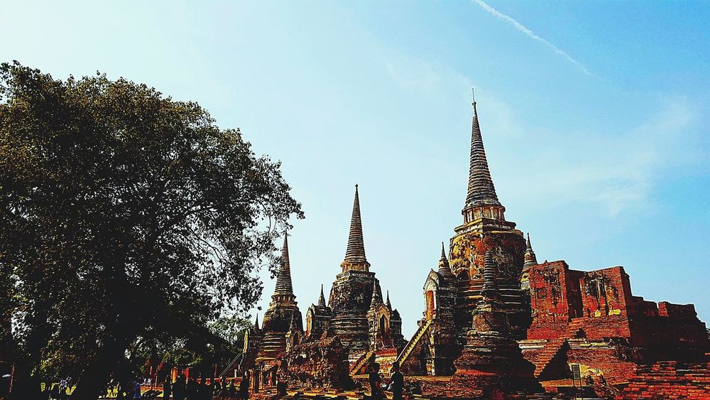 Ayutthaya,Thailand. Temple Thailand Temple Architecture Old Capital My Country My People Long History Here Palace Of Culture Many Stories Many Stones Looking At The World Live For The Story The Great Outdoors - 2017 EyeEm Awards EyeEmNewHere