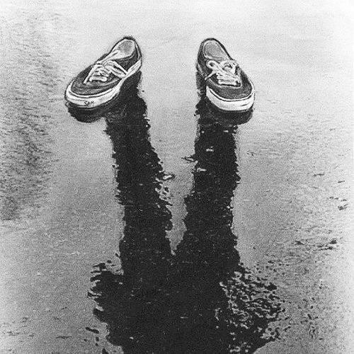 I'm not looking for a clearer conscience, peace of mind after I've been through and before we talk of any repentance, try walking in my shoes... Art Artistic Walkinmyshoes Instapic blackandwhite shadow shoes life metaphor