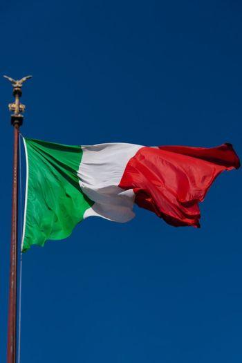 Italia. Italy Italia Flag Rome