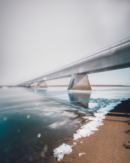 Norway Fog Water Sky Sea Nature Connection Bridge Bridge - Man Made Structure Day Architecture No People Transportation Land Cold Temperature Built Structure Tranquility Winter Outdoors Tranquil Scene Norwway Fog Ice Flower Long Exposure Road Sand
