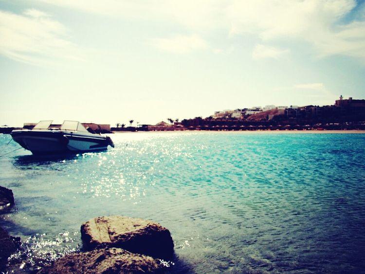 Beach Sea Boats