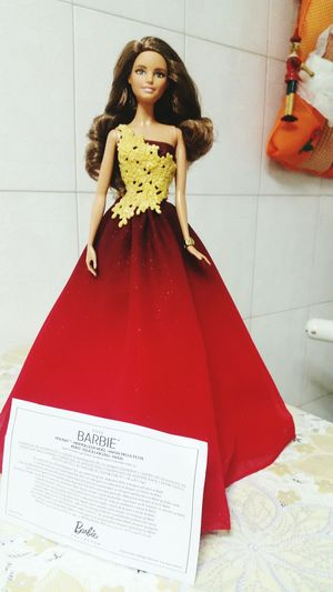 Regali Natale  Barbie Doll MerryChristmas Rosso