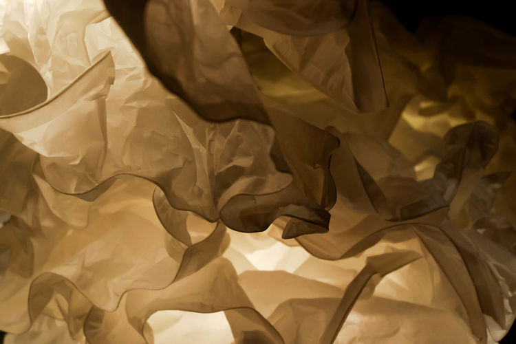 crumpled paper lamp close up Backgrounds Close-up Crumpled Crumpled Paper Crumpled Paper And Blind Fire Day Full Frame Indoors  No People Paper Sheet Textured