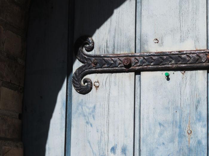 Shadow Metal Close-up Latch Door