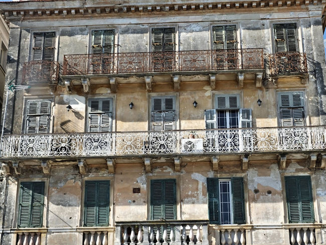 Architecture Balcony Building Building Exterior Exterior Façade Historic History Horizontal Symmetry In A Row Side By Side Window