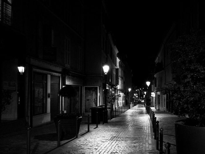 Almost reached home. France Charenton Le Pont Rue De Paris Street By Night Street Photography Ricoh Gr