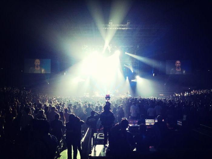 this is; Sting.. Singapore Indoor Stadion, 13rd Dec 12..