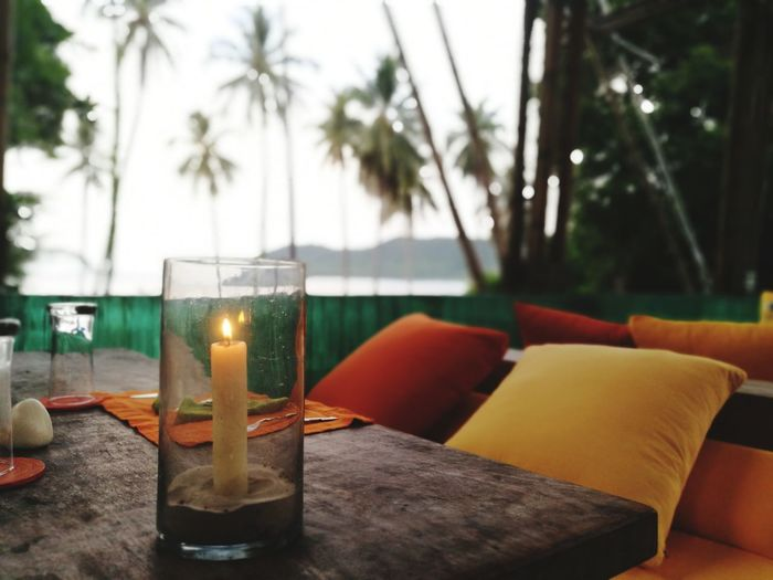 Under candle light. Palm Tree Beach Table Vacations Luxury Travel Lifestyles Relaxation Luxury Hotel Candle Candlelight Romantic Romanticdinner