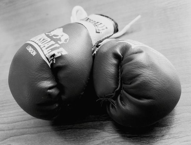 Close-up Something I Love Littlethings Gloves MuayThai Boxing Gloves Box Day Welcome To Black