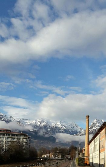 Sunshine After The Rain, Feltre Outdoors Montains    Dolomites Snow Carefree Spirit