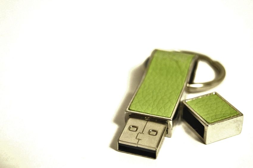 Lime green thumb drive Bright Color Cap For End Flash Drive Shadow Silver  Thumb Drive Two Piece Usb Drive