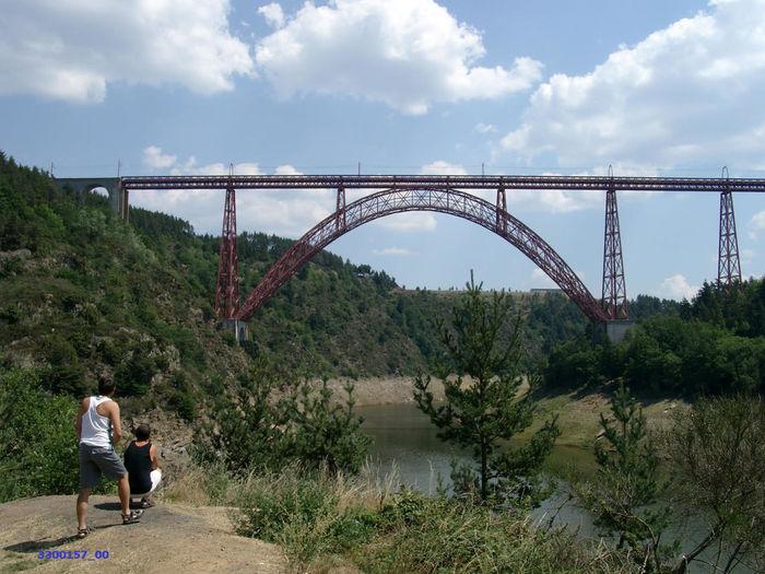 Bridge Brücke Eiffel Eisenbahnbrüc Pont Railway Bridge Viaduc De Garabit