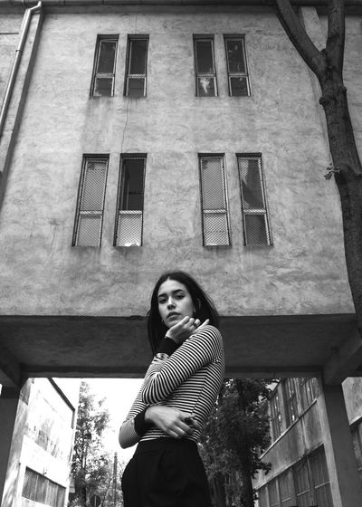 Cristina Girl Beauty Fashion Pose Photography Blackandwhite Art Model Attitude Minimalist Architecture Minimalism Bw Fashion Photography Love Unique Outfit Young Women Portrait Women Window Beautiful Woman Mid Adult Sunlight Standing Building Exterior Architecture Posing Sensuous Trendy Attractive Pretty Go Higher Stories From The City Inner Power EyeEmNewHere Visual Creativity
