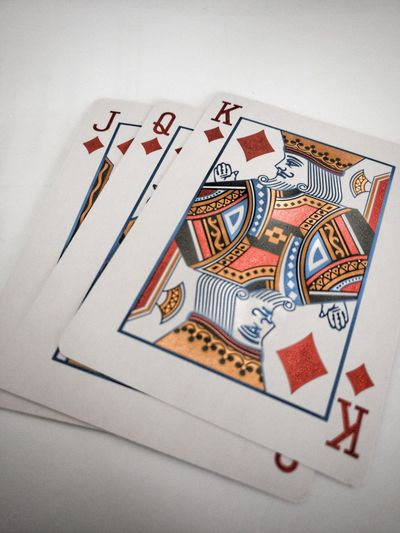 Cards Indoors