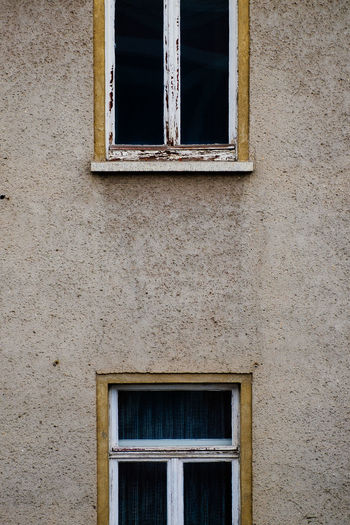 symmetry Architecture Building Exterior Built Structure Close-up Day Grid Low Angle View No People Outdoors Outside POV Street Streetphotography Symmetry Wall Window Windows