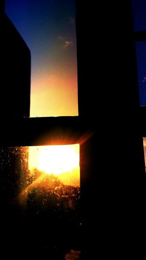 Good Morning Cielo Great Day Ahead Window