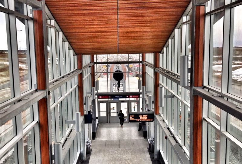 City Life Metro Station Lines YYC EyeEm Exploring Aritechture Building Art