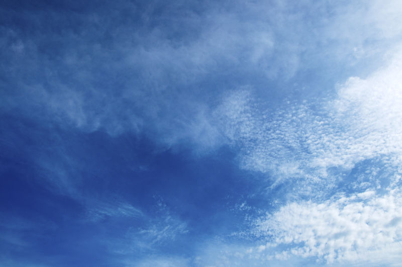 Cloud - Sky Sky Blue Low Angle View Beauty In Nature Backgrounds Tranquility No People Scenics - Nature Nature Tranquil Scene Day White Color Full Frame Outdoors Environment Cloudscape Idyllic Dramatic Sky Meteorology Clean Wispy