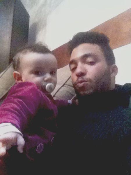Selfie With My Bebe.