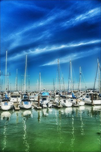 Re-do ... boats on the water... Photography Is Life Photooftheday Beautiful Clouds And Sky Photo Art San Francisco Boats And Clouds
