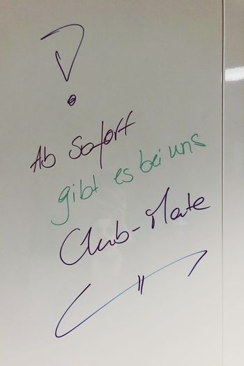 Prost Fotobox Text Communication Western Script Handwriting  Paper No People Emotion