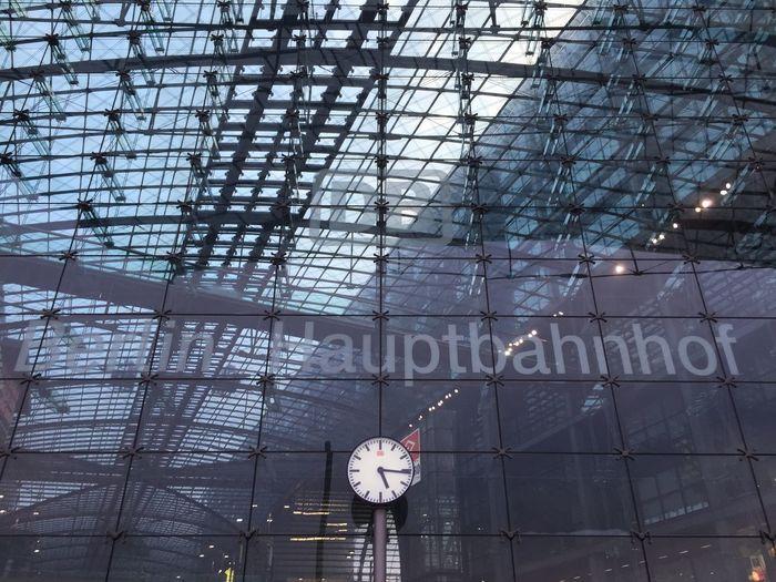 Exterior Of Berlin Hauptbahnhof