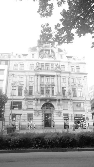 Oldarchitecture Historical Building Prague♡ I Love Prague Visiting Prague Street Photography Blackandwhite Photography Fortheloveofblackandwhite Black And White