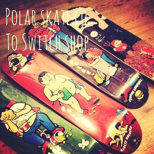 new Polarskateboarding Co. to Switch Shop arrived