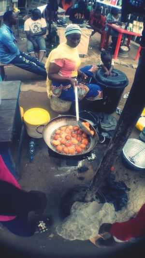 What makes us Nigejrians Food People Ready-to-eat Nigeria Phonephotography📱 Foodphotography EyeEmNewHere The Week On EyeEm Close-up Been There. Nigerians Streetphotography