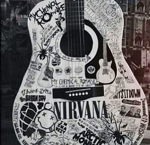 Listen a music and take one road! So, so far Grunge Style Nirvana <3 ROCK ON! Music Time Kurt Cobain Grunge It Up Rock N Roll Style Grunge Music Classic Style