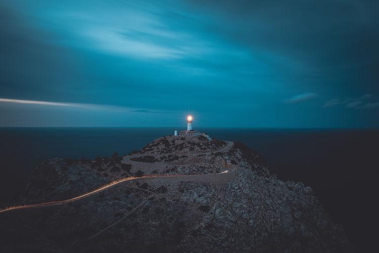 Lighthouse, sunset