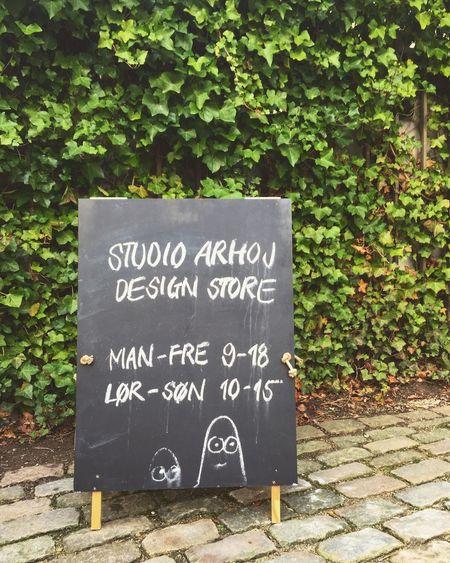 Copenhagen Copenhagen, Denmark Studio Arhoj Sign Store Ivy Cobblestone