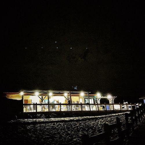 IPhoneography Nightphotography Beach Bar Terrace