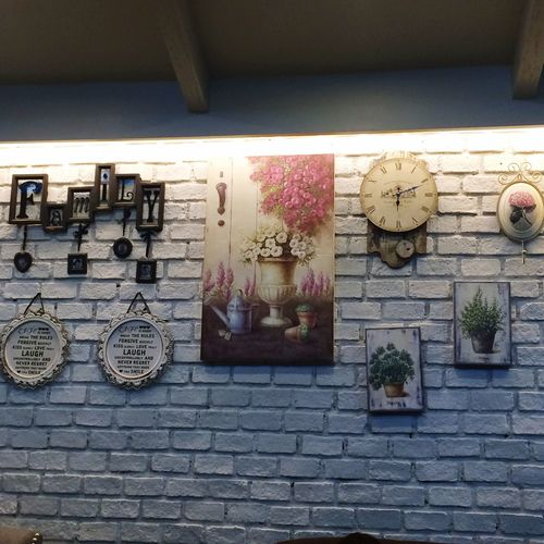 The Wall! Espresso Relaxing Coffee Strong Coffee Hanging Out Enjoy Life Relaxing Enjoying Life Wall Art Brick Wall