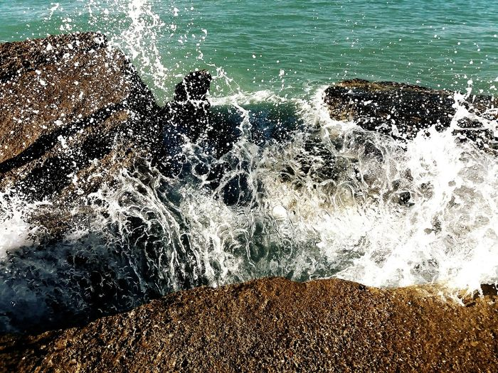 Pietre Cadute Waves, Ocean, Nature Waves Crashing Waves And Rocks Sea Seccagrande