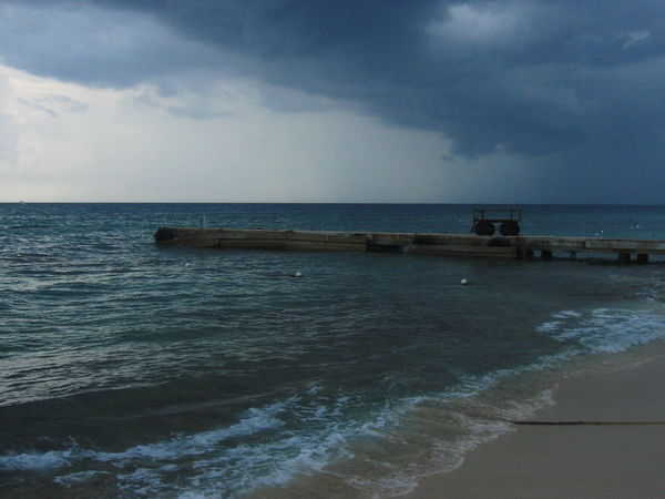 2007 Barrow Dominican Republic Dominicus Beach Stormy Weather Beach Beauty In Nature Cloud - Sky Day Horizon Over Water Nature No People Outdoors Scenics Sea Sky Water Wave