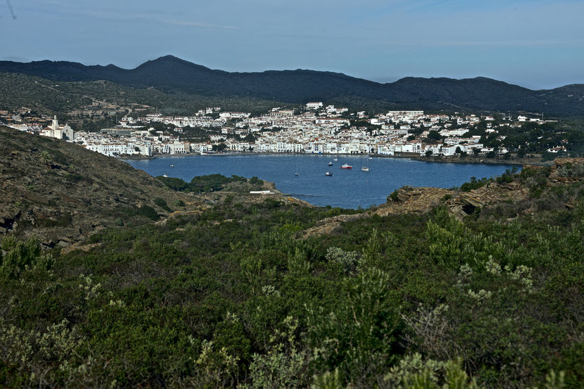 bay of Cadaques country view with nature around Cadaqués, Spain Catalonia Costa Brava Country View Day Landscape Mountain Nature No People Outdoors Sea Travel Pictures