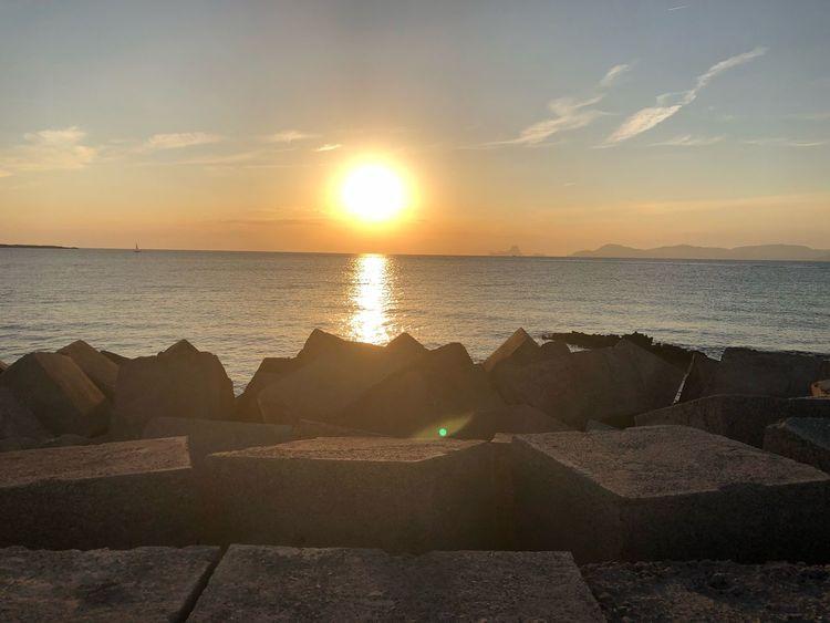 Hermosa puesta de sol 🌅Formentera España Sky Water Sea Scenics - Nature Sunset Beauty In Nature Beach