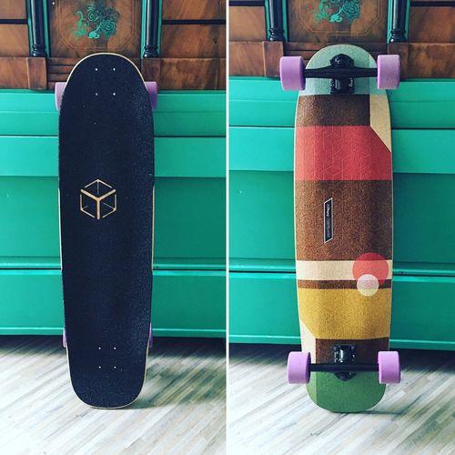 New toy in town. New love. Longboard Longboarding Loadedboards Paristrucks Orangatangwheels
