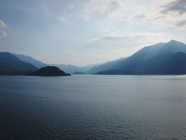 Lago Di Como Lake Como Mountains Mountain Lake Relax Peace And Quiet On The Train Fujifilm