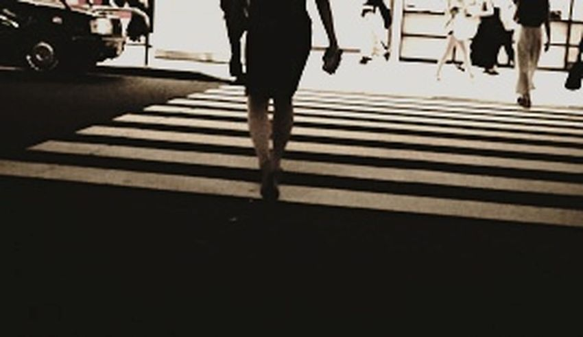 Warking Around From My Point Of View Traffic Jam Women High Heels Crosswalk City Night Photography Sepia Sepia Photography City Low Section Pedestrian Human Leg City Life Walking Street City Street Crossing Zebra Crossing Crosswalk Pedestrian Crossing Sign Road Intersection Zebra Crossroad Road Marking Rush Hour
