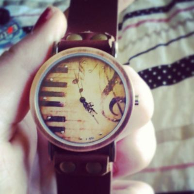 Finally got my watch I orderd. Whoo!!! Finally Ohyea Music Trebleclef