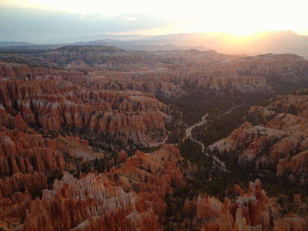Walking Around Enjoying The Sun Sunrise_Collection Bryce Canyon