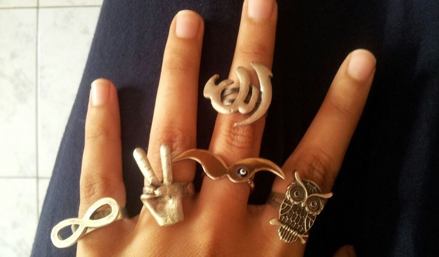 My Favorite Collection Of Rings <3