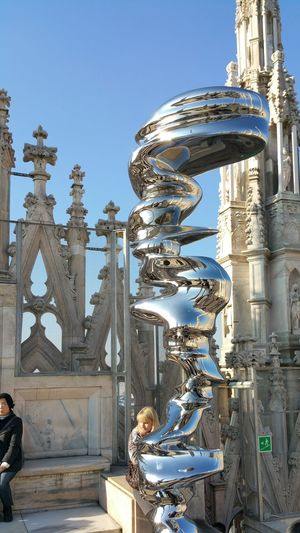 Italy Duomo roof
