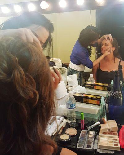 1 2 3 action! Job Of The Day Embriagados Teatro Municipal Café Pequeno Backstage Makeing Art Makeupartist Riodejaneiro🔝👄💄⭐⭐⭐⭐⭐